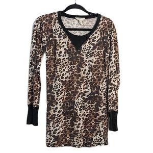 Etoile Isabel Marant Leopard Long Sleeve Tee